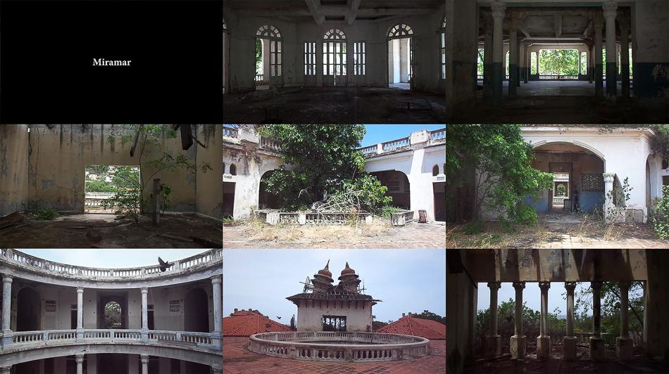 Fotogramas del vídeo Miramar de Manuel Eduardo González