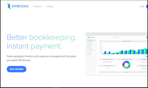 ZipBooks is easy-to-use and completely free
