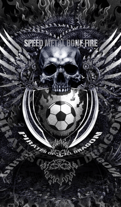 Pirates of skull dragon Skull soccer 2