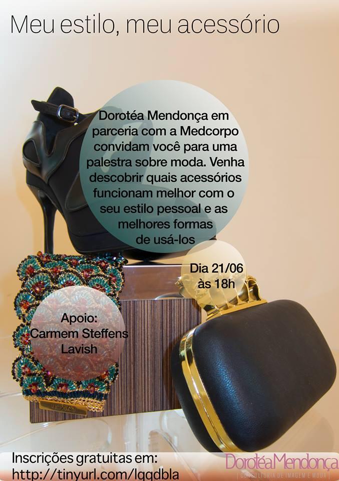 Evento em Brasilia, palestra com Dorotéa Mendonça