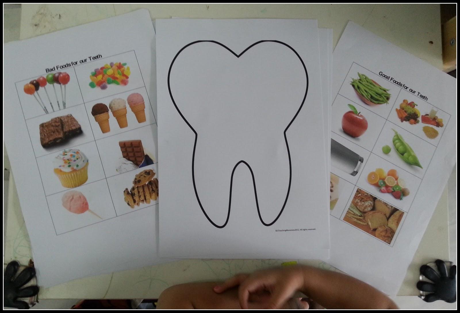 My Lovely Motherhood Happy Teeth Amp Sad Teeth