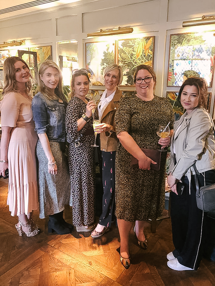 Bloggers, models, and stylists gathered to celebrate the launch of Winchester Fashion Week