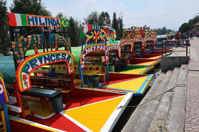 ciudad de mexico xochimilco a golpe de objetivo