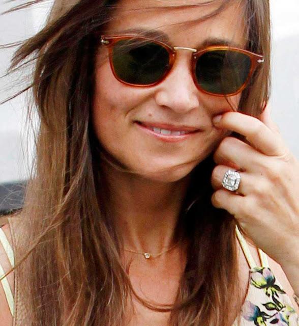 Anel de noivado de diamantes, Pippa Middleton