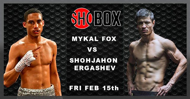 Shohjahon Ergashev vs. Mykal Fox Fight Card, Preview, Results And Predictions