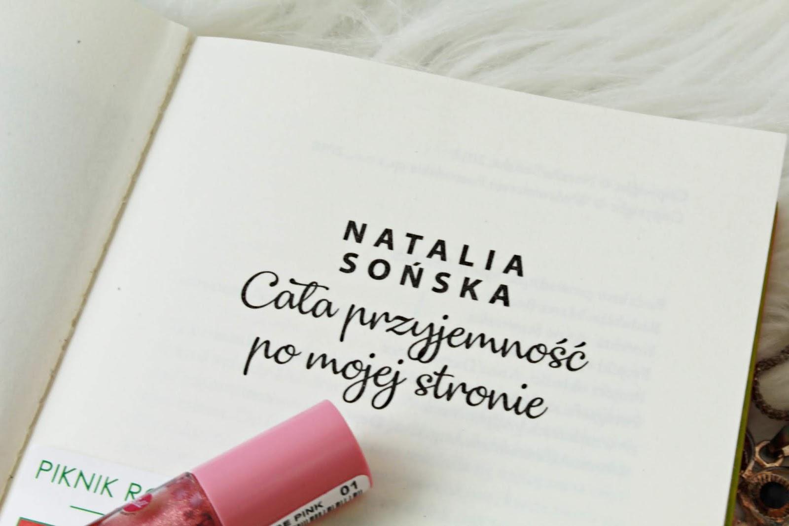 """Jagodowa miłość tom 1, czyli """"Cała przyjemność po mojej stronie"""" Natalii Sońskiej - recenzja"""