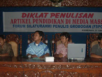 FSPG Gelar Diklat Penulisan Artikel Pendidikan di Media Massa