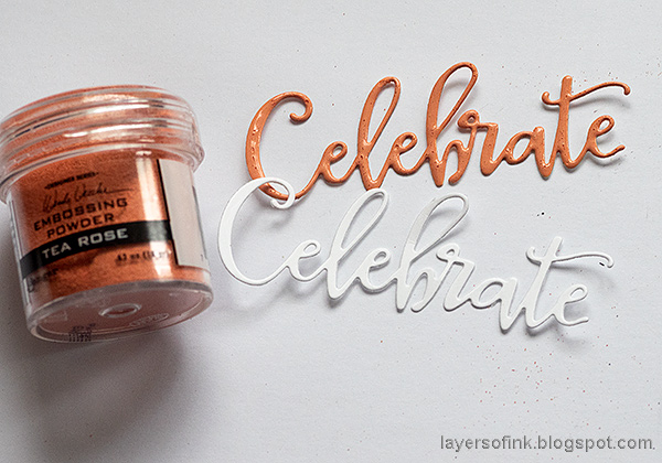 Layers of ink - Multi-Color Embossing Tutorial by Anna-Karin Evaldsson.