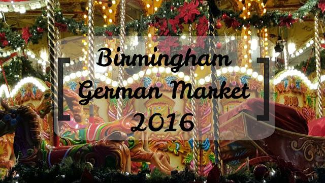 Birmingham German Market 2016