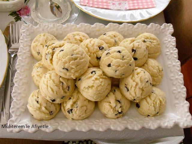 çay masası için kurabiye tarifi