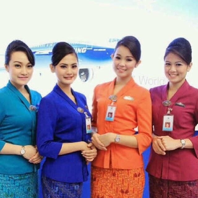 Cantiknya Paramugari Indonesia - Garuda Indonesia