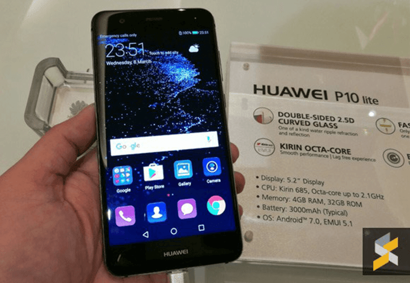 Huawei P10 Lite Goes Official In Malaysia For Around PHP 14K!