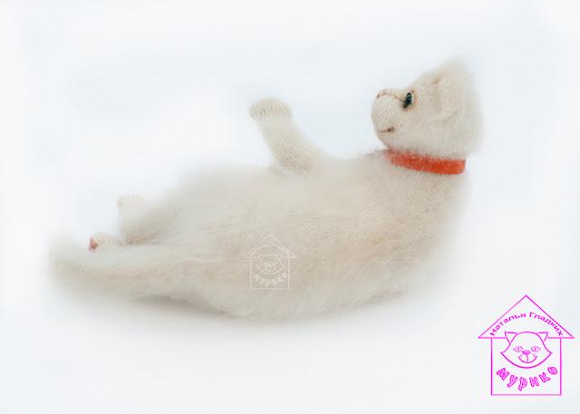 купить интерьерную игрушку, авторская игрушка, коллекционная игрушка, кошка, kat, toys, вязанная игрушка, спицами, подарки, подарок