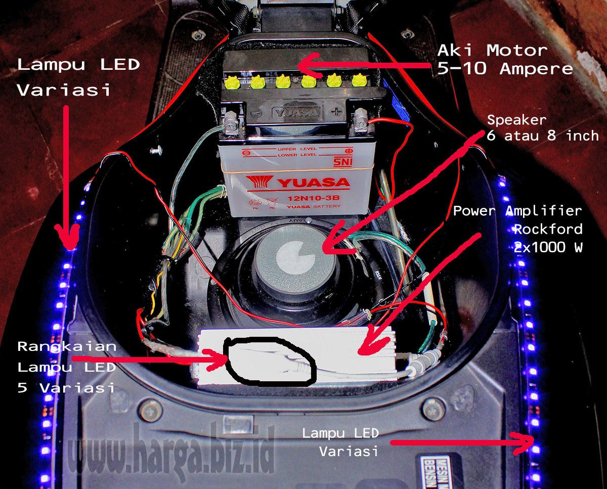 Kumpulan Modifikasi Audio Motor Matic Terupdate Fire Modif