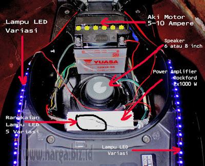 Audio Pada Motor Yang Bagus Dan Nge Bass