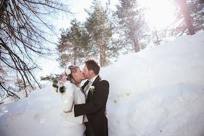 sposarsi sulla neve foto