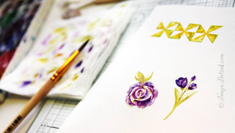 how to draw paper for scrapbooking