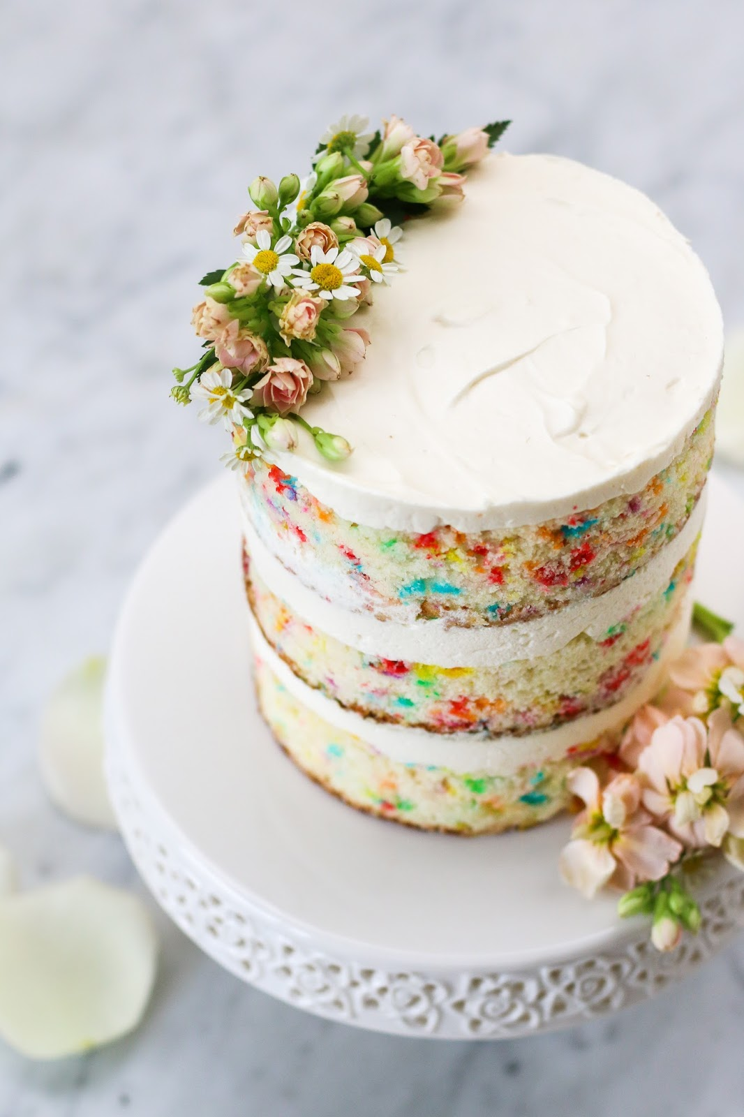 Cream Cheese Frosting For Funfetti Cake