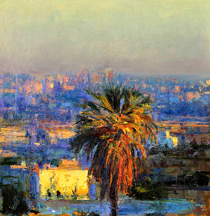 Ближневосточная живопись. Andrew Gifford