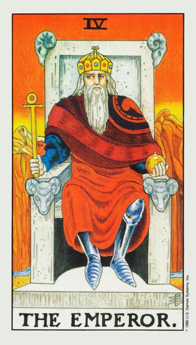 """Significado de """"El Emperador"""" del Tarot Rider Waite"""