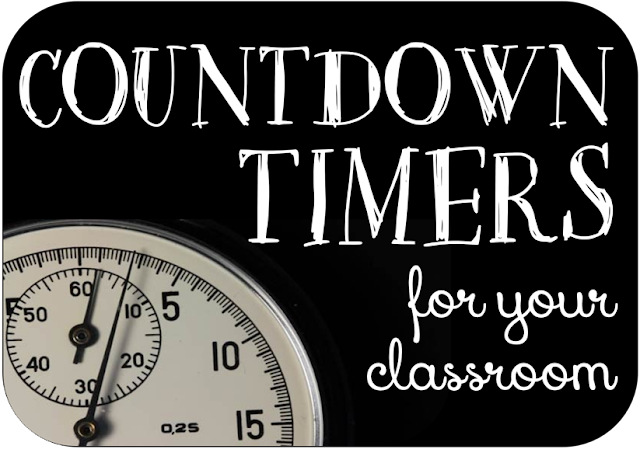 Countdown timers for your classroom 3rd grade thoughts while i may not use countdown timers every day in our class it can be fun to mix them in throughout the week i find i use them for clean up times in publicscrutiny Choice Image