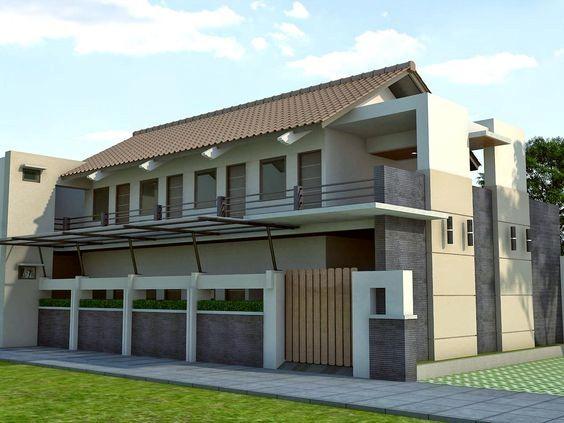 model rumah kos kosan minimalis 2