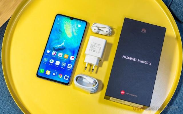 5G smartphone Huawei Mate20 X