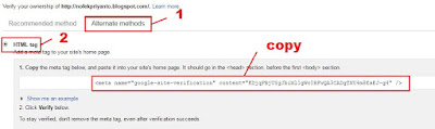 verifikasi webmaster