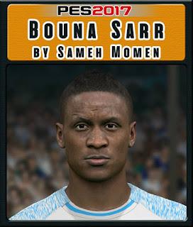 PES 2017 Faces Bouna Sarr by Sameh Momen