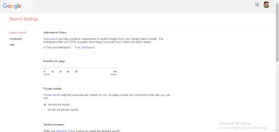 Cara Blokir Situs Dewasa di Google