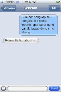 SMS Pantun Cinta Lucu dan Romantis 2018