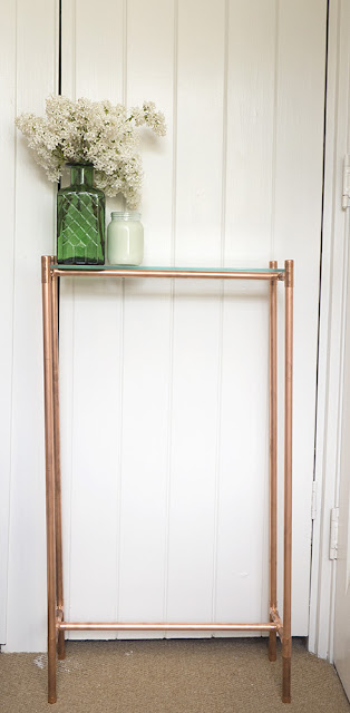 Copper pipe table by welaughindoors