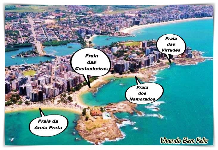 Conheça as 4 praias do Centro de Guarapari e se encante!
