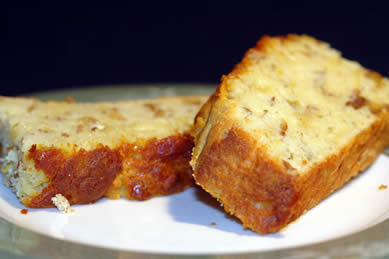 Gluten-Free Recipe: Orange-Nut Bread - sliced