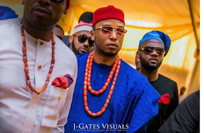 More photos from the traditional wedding of billionaire Chris Ubah's