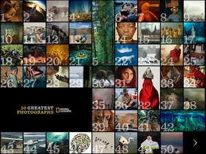 50 Greatest Photographs of National Geographic iPad app available for download