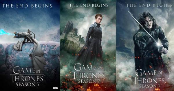 game of thrones season seven episodes
