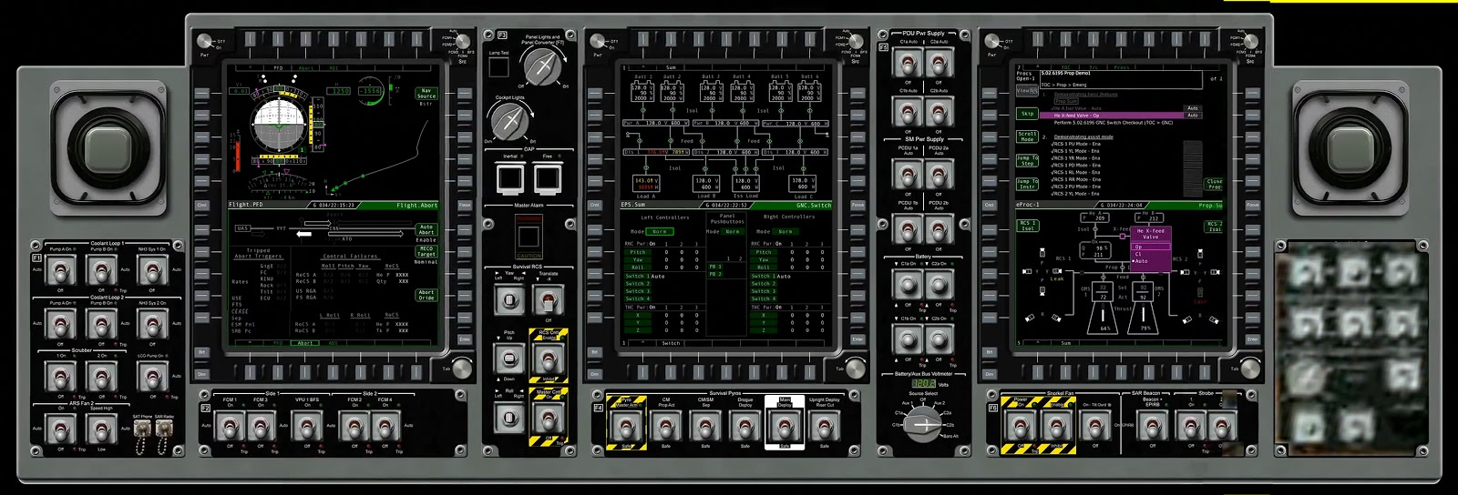 orion spacecraft cockpit - photo #8