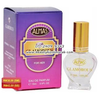 Perfume Glamorous (For Her) Almas