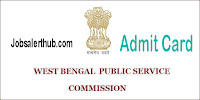 West Bengal Civil Service Admit Card