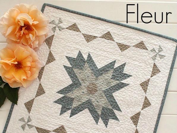 Fleur Mini Quilt +Your Free March Calendar