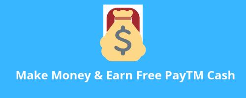 free paytm cash apps
