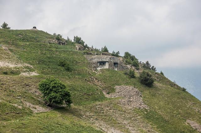 bunker im berg 1. wk