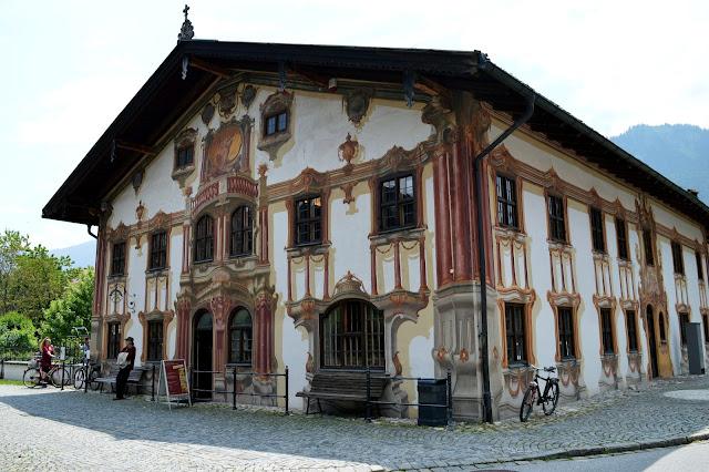 case dipinte oberammergau