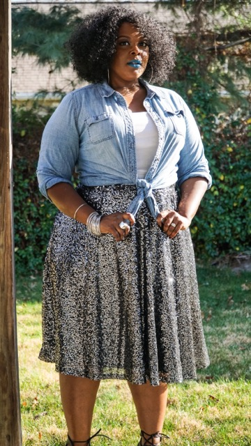lane bryant sequin skirt, sequin skirt