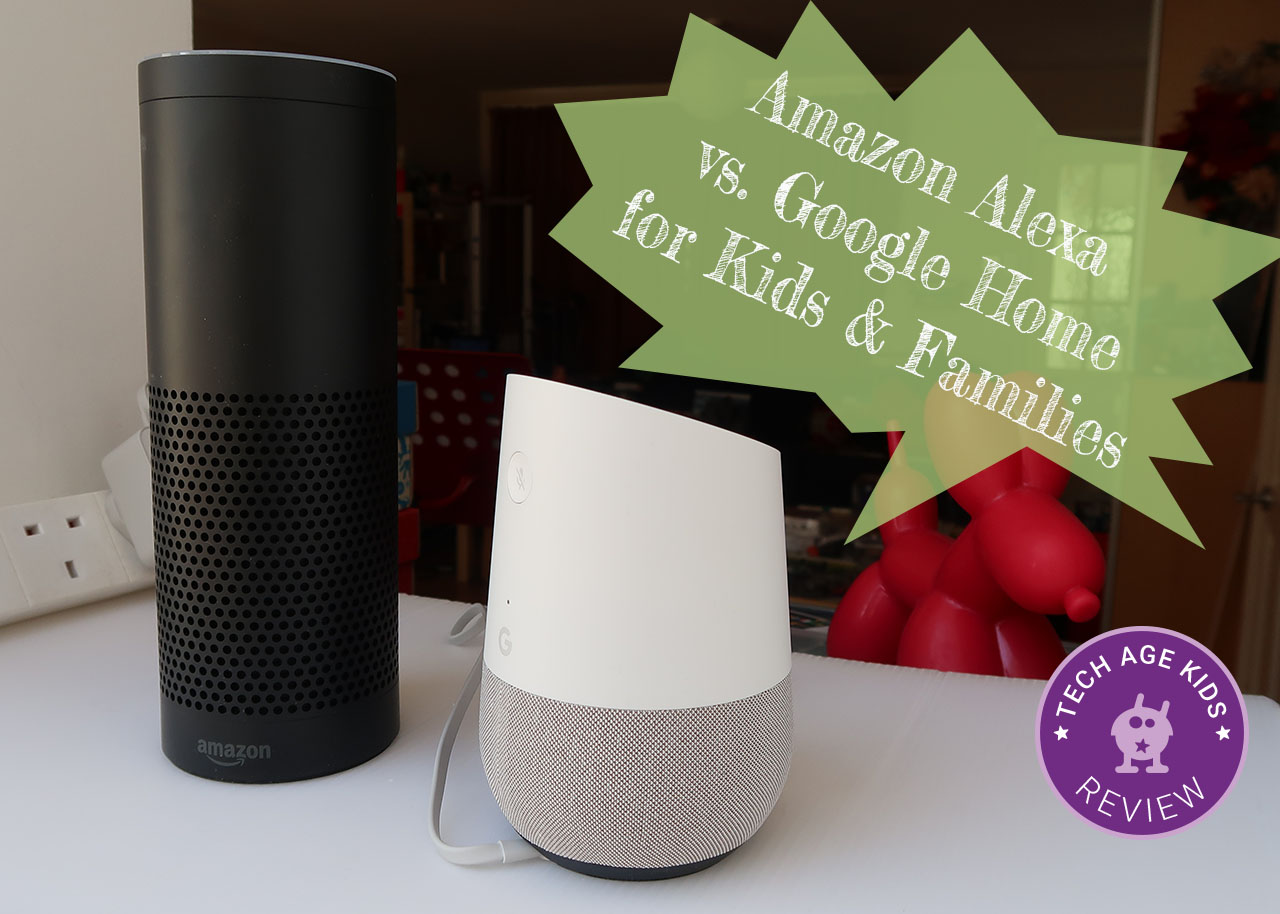 7488a9614d04ab We've been using both Amazon Alexa (Echo and Dot) and Google Home since  each came out. This comparison focuses on families with children using a  voice ...