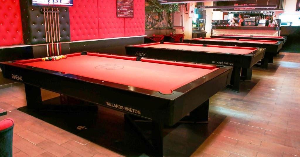 Jouer au billard table fabricant salles salle de billard design paris - Billard americain design ...