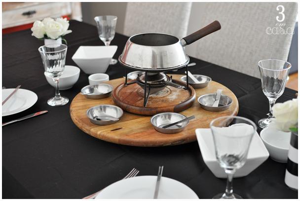 panela de fondue