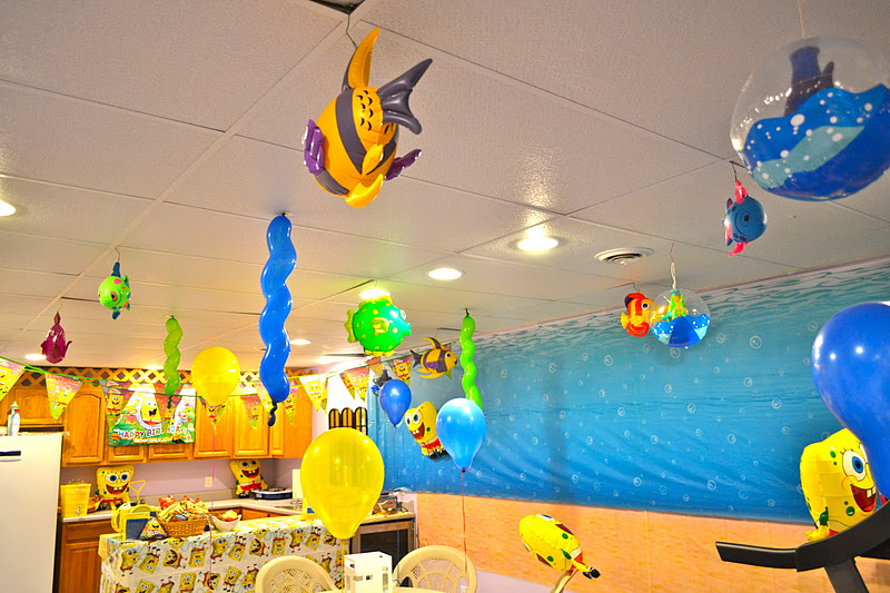 Life Home At 2102 Aidans 7th Spongebob Underwater Themed