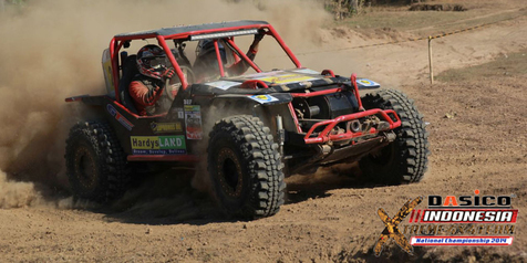 Putaran Final Kejuaraan Indonesia X-Treme 4x4 Team